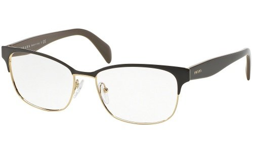 prada-fur-frau-65r-brown-pale-gold-metallgestell-brillen-55mm