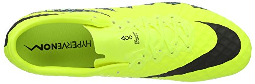 Nike Hypervenom Phinish (FG), Scarpe da Calcio Uomo Giallo (Volt/black-hyper turq-clear jade)