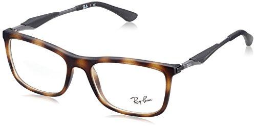 Ray-Ban Herren 0RX 7029 5200 53 Brillengestelle, Braun (Havana), (Rey Brille Ben)