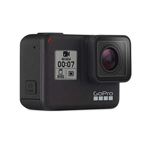 GoPro hero7 - Action Camera 4K con Hypersmooth, Stabilizzazione video e Live streaming - Nero