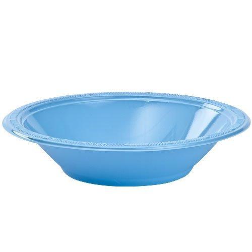 Light Blue Plastic Bowls (Party Dimensions 81121 12 Count Plastic Bowl, 12-Ounce, Light Blue by Party Dimensions)