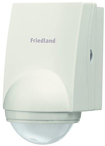 Friedland Spectra+ L320WHI Bewegungsmelder 200° inkl. Fernbedienung, weiß