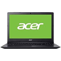"""Acer Aspire 3 Ordenador portátil (15.6"""" HD Acer CineCrystal LED LCD, Intel Core i5-8250U, 8 GB de RAM, 1000 GB HDD, UMA, Windows 10 Home) QWERTY Español"""