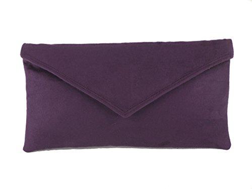 loni-neat-umschlag-faux-wildleder-clutch-bag-schultertasche-in-cadburys-lila