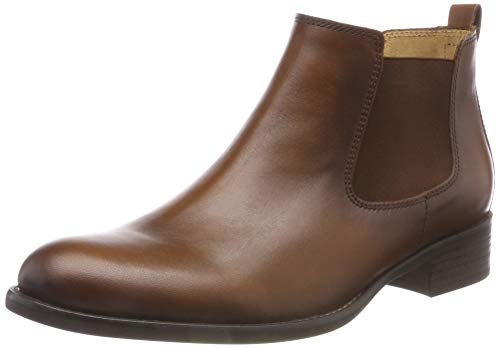 (Gabor Shoes Damen Fashion Chelsea Boots, Braun (Sattel (Effekt) 22), 38.5 EU)