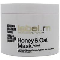 Etiqueta M miel y avena Tratamiento máscara ...