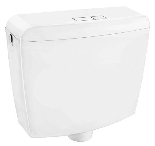 Cornat Spülkasten PONTOS, weiß/Zweimengenspülung/Toilettenspülung/Aufputzspülkasten |Toilette/Badezimmer/SPK1200