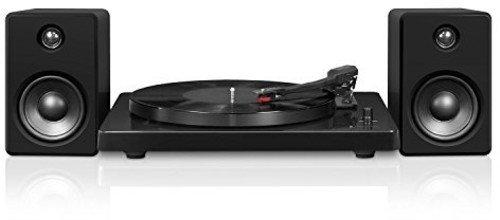 Victrola itut-420Negro Tocadiscos, Color Negro