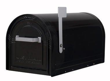 US-Mailbox Wyngate, abschließbar, Stahl, schwarz - US Mailbox