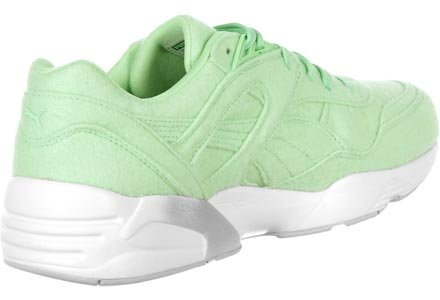 Puma R698 Bright Trinomic Baskets Hommes Mint Green