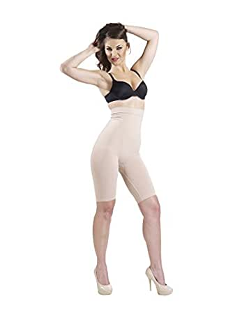 Swee Women Synthetic Shaping Bodysuits -Nude -Medium