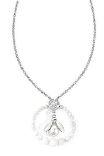 Morellato SKQ03 - Catenina con pendente da donna, acciaio inossidabile