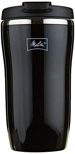 Melitta Thermobecher, Druckverschluss, 100% luftdicht, schwarz, 250ml