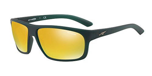 Arnette An4225-2561N0 Sonnenbrillen | Braun Orange 24K Iridium Mm Matt Grün