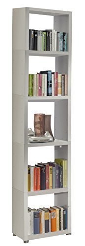 Regalsystem Raumteiler Bücherregal Standregal READY 51 Weiß Seidenmatt 50 x 2...