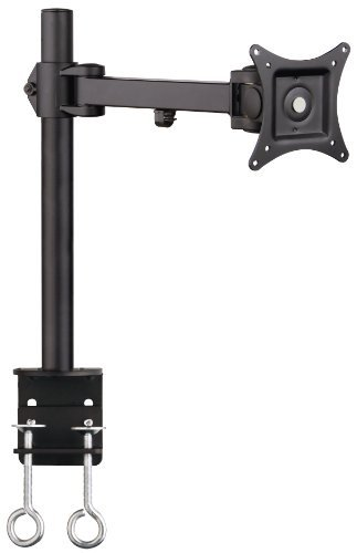 SIIG Tilt/swivel/rotate Single Extend Desk Mount for 13 to 27 Inches Monitor, Black (CE-MT0N11-S1) by SIIG Monitor Tilt Mount