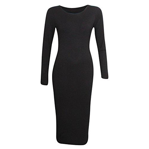 Miss Sixty - Vestito - fasciante - Donna, Black, 42
