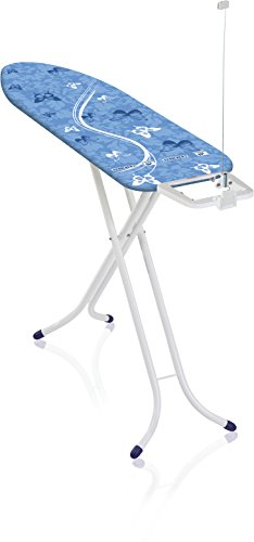 Leifheit AirBoard Compact M - Tabla de planchar de plástico, 120x38 cm, color azul