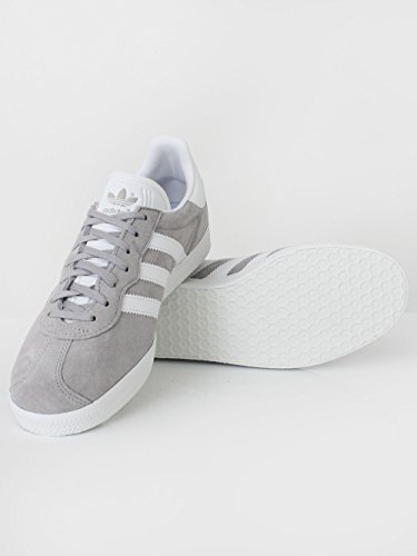 adidas Men's Gazelle Super Essential Fitness Shoes, Grey (Gridos/Ftwbla/Balcri 000), 8 UK
