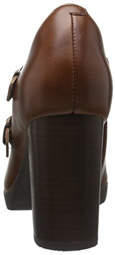 Clarks Elipsa Mae, Stivaletti Donna Marrone (Dark Tan Leather)