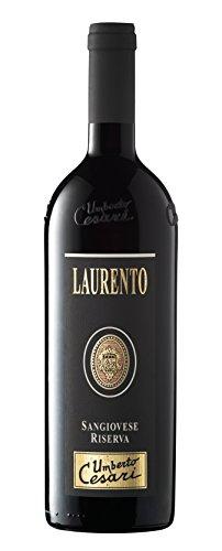 Umberto Cesari Vino Rosso Laurento Romagna Doc Sangiovese Riserva - 2016-3 Bottiglie da 750 ml
