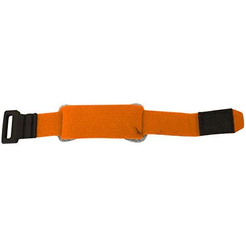 Caredy Saiten-Dämpfer, Bassgitarre Saiten-Dämpfer Saiten-Dämpfer Noise Reducer Dämpfer Instrument Saiten-Dämpfer für 6-saitige E- / Holz- / Akustikgitarren-Bässe(Orange)