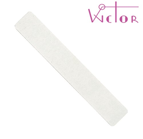 Wictor, Lime blanche rectangulaire 4 mm 100/180