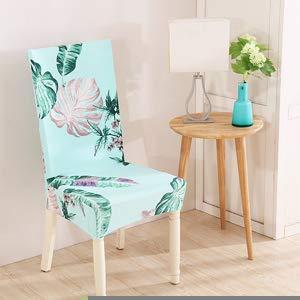 ZTDE Startseite Esszimmerstuhlabdeckung Elastische Bankett Hochzeit Stuhlhussen Spandex Elastische Tuch Universal Stretch Floral Solid Color 20182649 Chair Cover 1pc -
