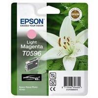 Epson T0596 Cartouche d'encre d'origine magenta clair pour R2400