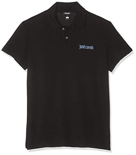 Just Cavalli Beachwear Poloshirt B47 schwarz DE 54