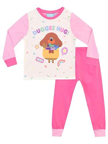 Hey Duggee Pijamas de Manga Larga para niñas Rosa 3-4 Años