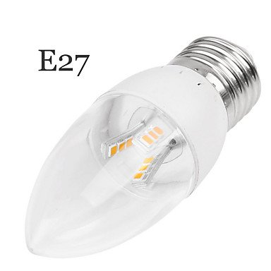 FDH 5W E14/E27Velas LED Empotrables luces Retrofit 18 LED SMD2835 350-400 lm decorativos 85-265 V CA 1pcs,E27