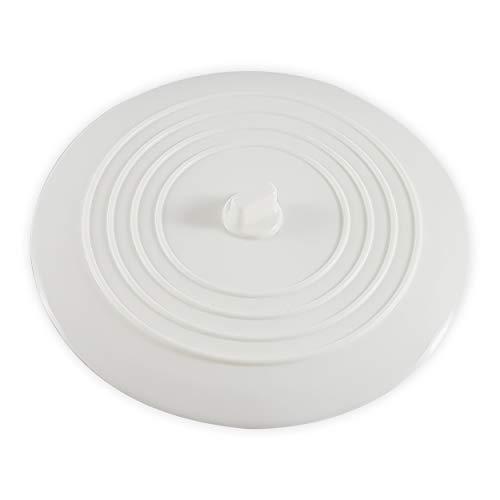 ✮MARQUE FRANCAISE✮-CZ Store®- Bouchon baignoire 5 COULEURS ✮✮GARANTIE A VIE✮✮- Bouchon evier de cuisine DIAMETRE 15,2 CM  bouchon lavabo pour salle de bains et cuisine- bouchon ventouse en silicone-