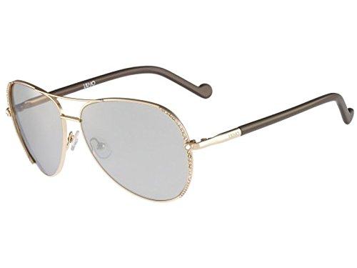 Liu Jo Damen LJ102SR 714 59 Sonnenbrille, Golden Beauty