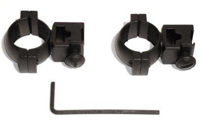 2X ZF Montagering MONTAGE FUER ZIELFERNROHR 11mm bis 42mm Zielfernrohrmontage