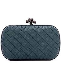 70dd9100b96 Bottega Veneta Women s 498478V00164411 Blue Leather Clutch