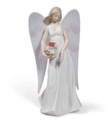 Lladro Anges Etoiles Angelic (Arbre Topper)