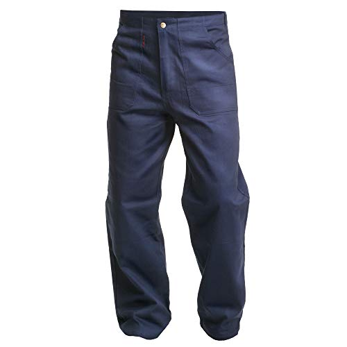 'Charlie barato h01tb42/52hb Pantalones de trabajo'Sweat Life–Pantalón de peto para herramientas, Hydron Azul, 52cm