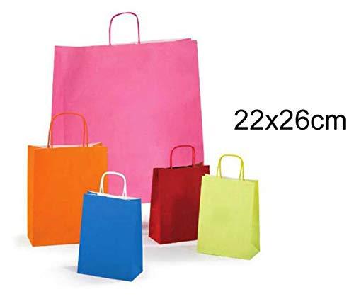 Rex sadoch sdf22-lit borse in carta colorata, confezione con 25 pezzi, colori assortiti