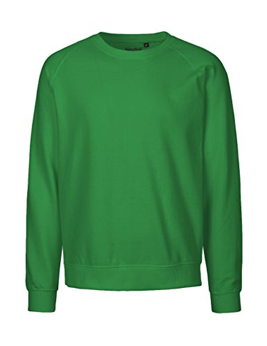 -Neutral- Sweatshirt, 100% Bio-Baumwolle. Fairtrade, Oeko-Tex und Ecolabel zertifiziert Grün