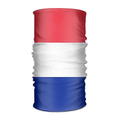 ghfghgfghnf Flag of France and Monaco Unisex Outdoor Sport Scarf Headbands Bandana Mask Neck Gaiter Head Wrap Sweatband Headwear -