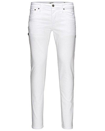 Jack & Jones Jjiglenn Jjoriginal Jos 121 Noos, jeans Homme white