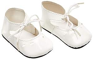 Zapato de Barniz para muñecas Sturm 3845-60, Color Blanco