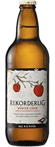 Rekorderlig - Winter Cider - Limited Edition Premium Swedish Cider - 15x500ml Glass Bottle Case
