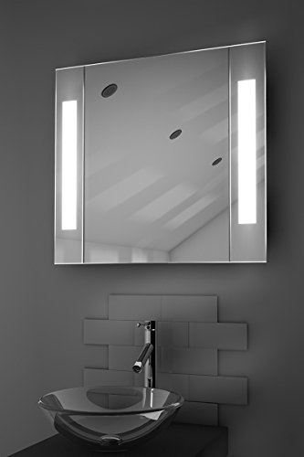 Newsbenessere.com 313ktp3TQlL LED Specchio Con Armadietto Illuminato - LED Gentile Sensore Mobile - h:600 x w x d:135 mm