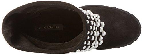 Casadei - 2s707e080, Stivali a metà polpaccio con imbottitura leggera Donna Nero (Schwarz (Black Ooo))