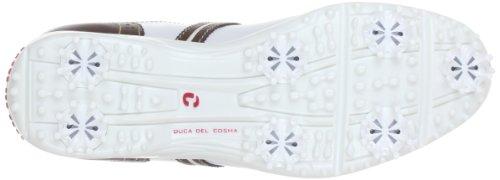 Duca Del Cosma 20162, Chaussures basses femme Multicolore (Weiß/Braun)