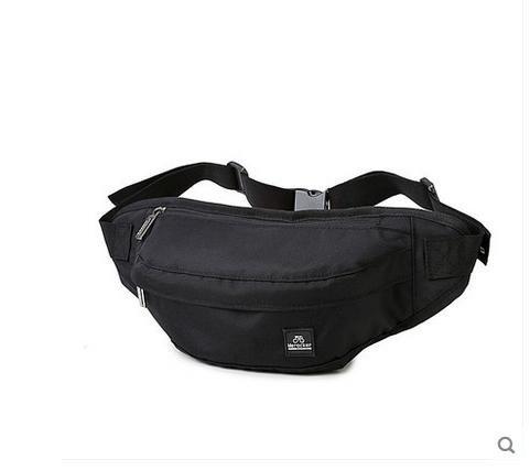 ZYT Herren Brust Tasche Herren outdoor Sport Tasche Mann Bag Crossbody-Sport und Freizeit-Tendenzen-Pakets Black