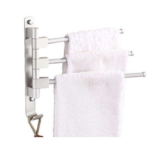 KAIMENG Swing Arm Towel Bar Folding Arm Swivel Hanger Handtuchhalter