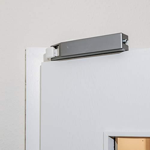 Komfort-Türschließer PRIMAS - Schließen und Softclose - [Weiß und Silber]